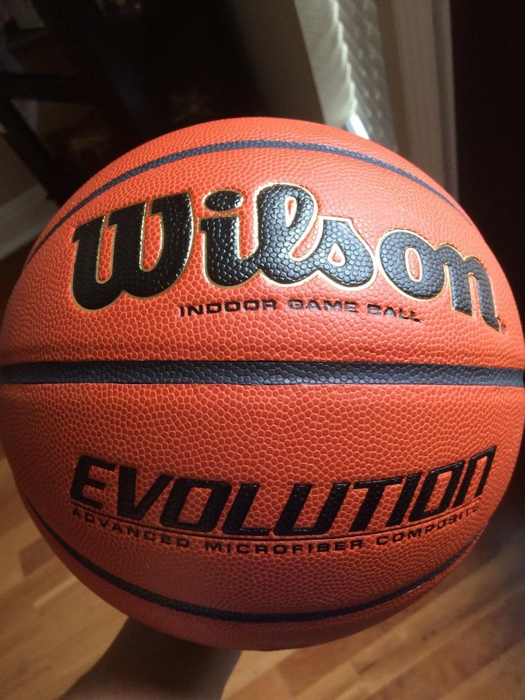 how to break in a wilson evolution basketball
