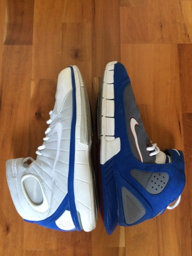 1ee610b054b6 Head to Head  Nike Huarache 2K4 vs 2K5