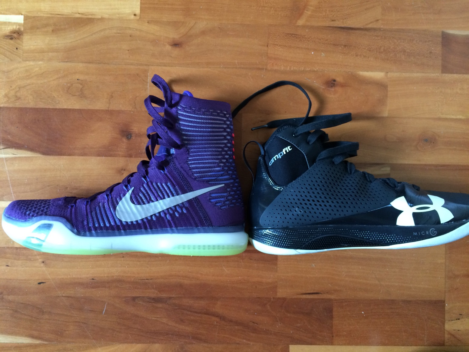 new product d81e8 fcfd9 Nike Kobe X 10 Elite Performance Review and Comparison  schw