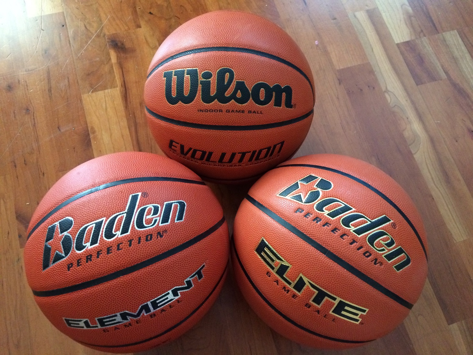 Baden Perfection Elite And Element Basketball Review And