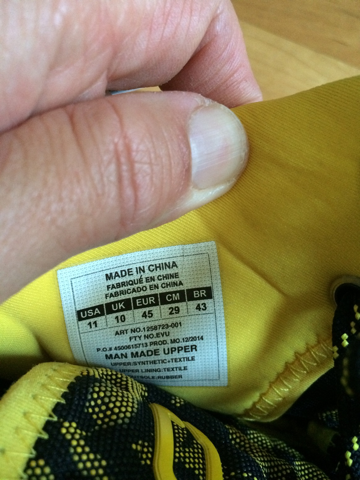 7981f5f8d2bb Fake Curry Ones have arrived