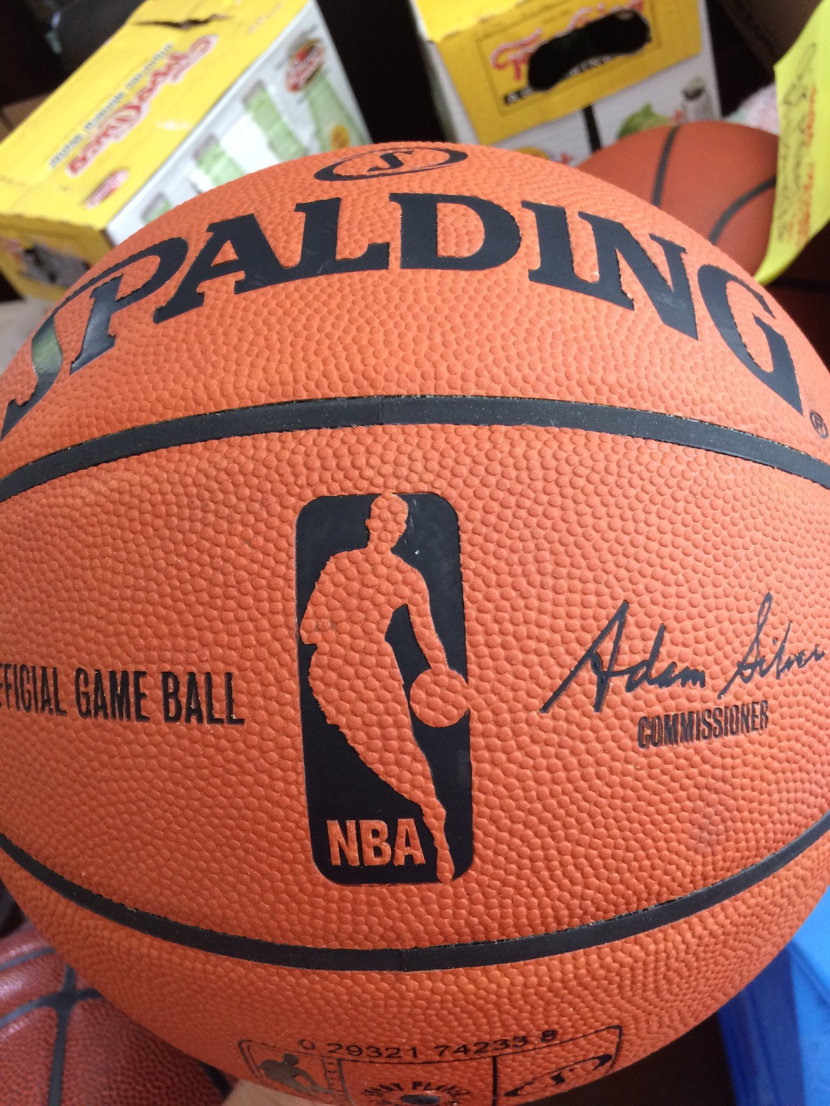 cd2da14babe Does the NBA use the same ball we can buy off the shelf