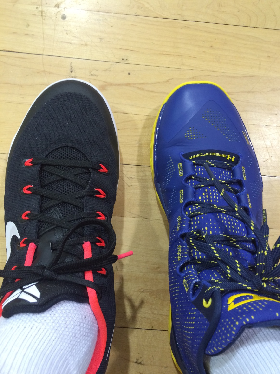 Under Armour Curry Two 2 Performance Review and Comparison | schwollo.com