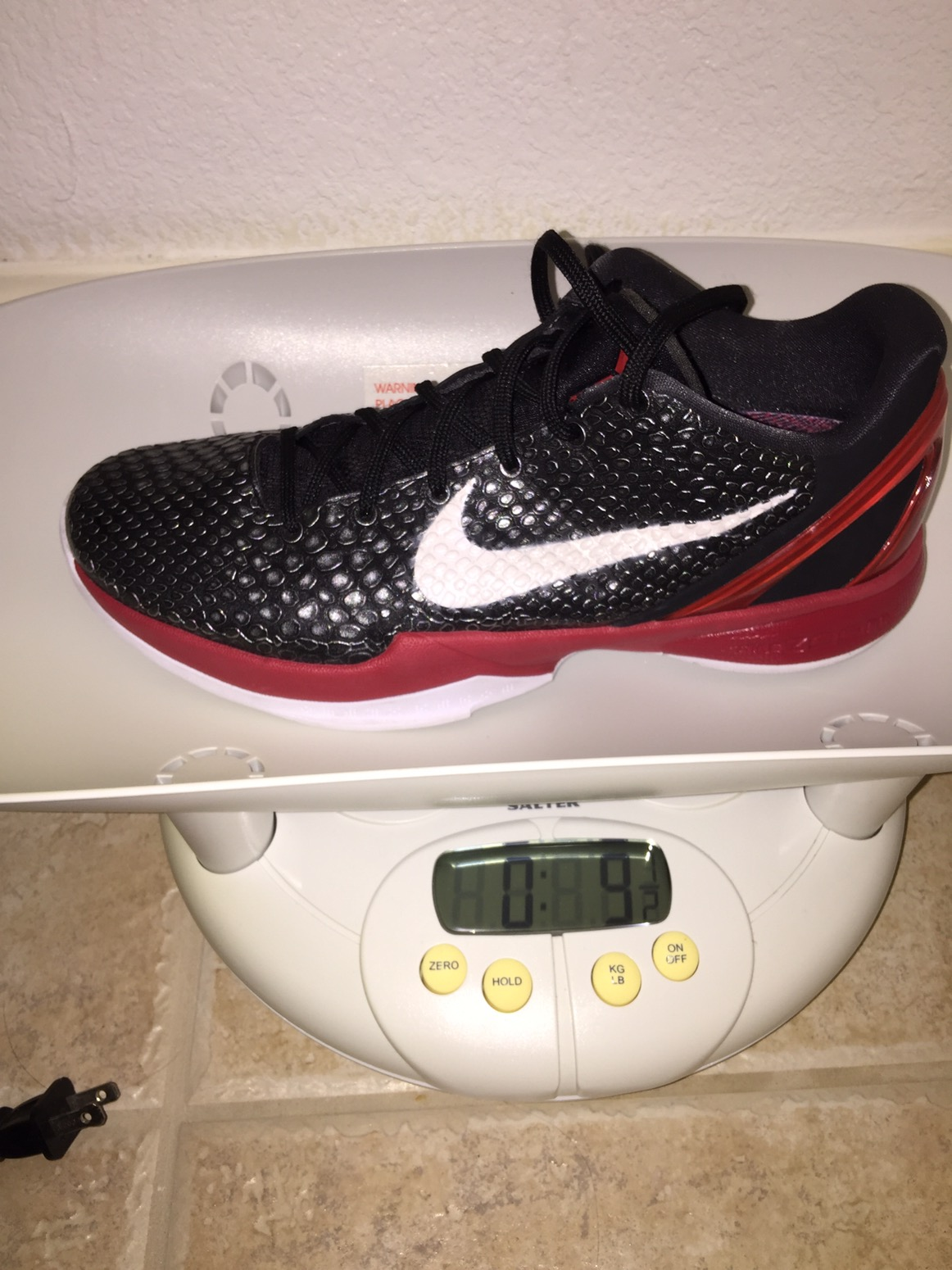 53dea1961c75 The Archive  Nike Zoom Kobe VI Performance Review and Analysis ...