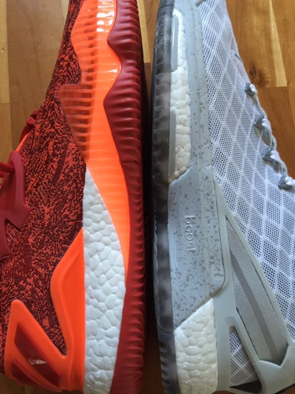 Adidas Crazylight Øke Lav 2016 Rød 9x7EFBBRy2