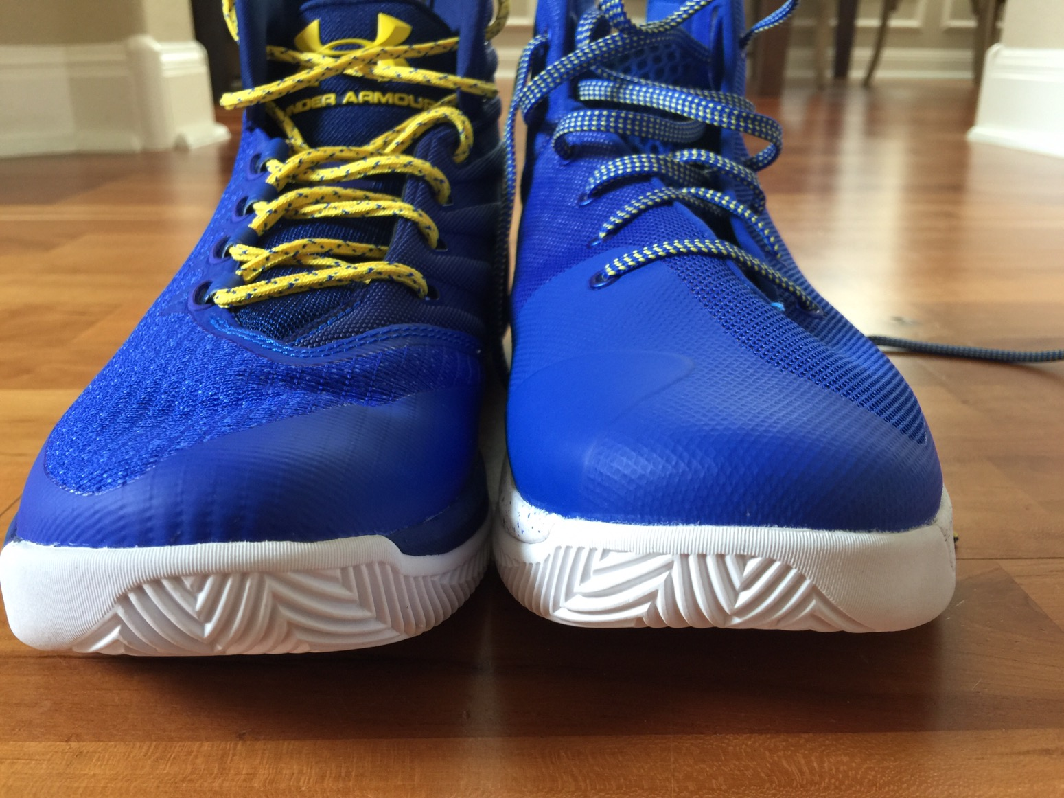 aceb3db6c867 The Curry 3 is made for a specific player while the other is basically team  shoe made to fit a lot of different players  feet.