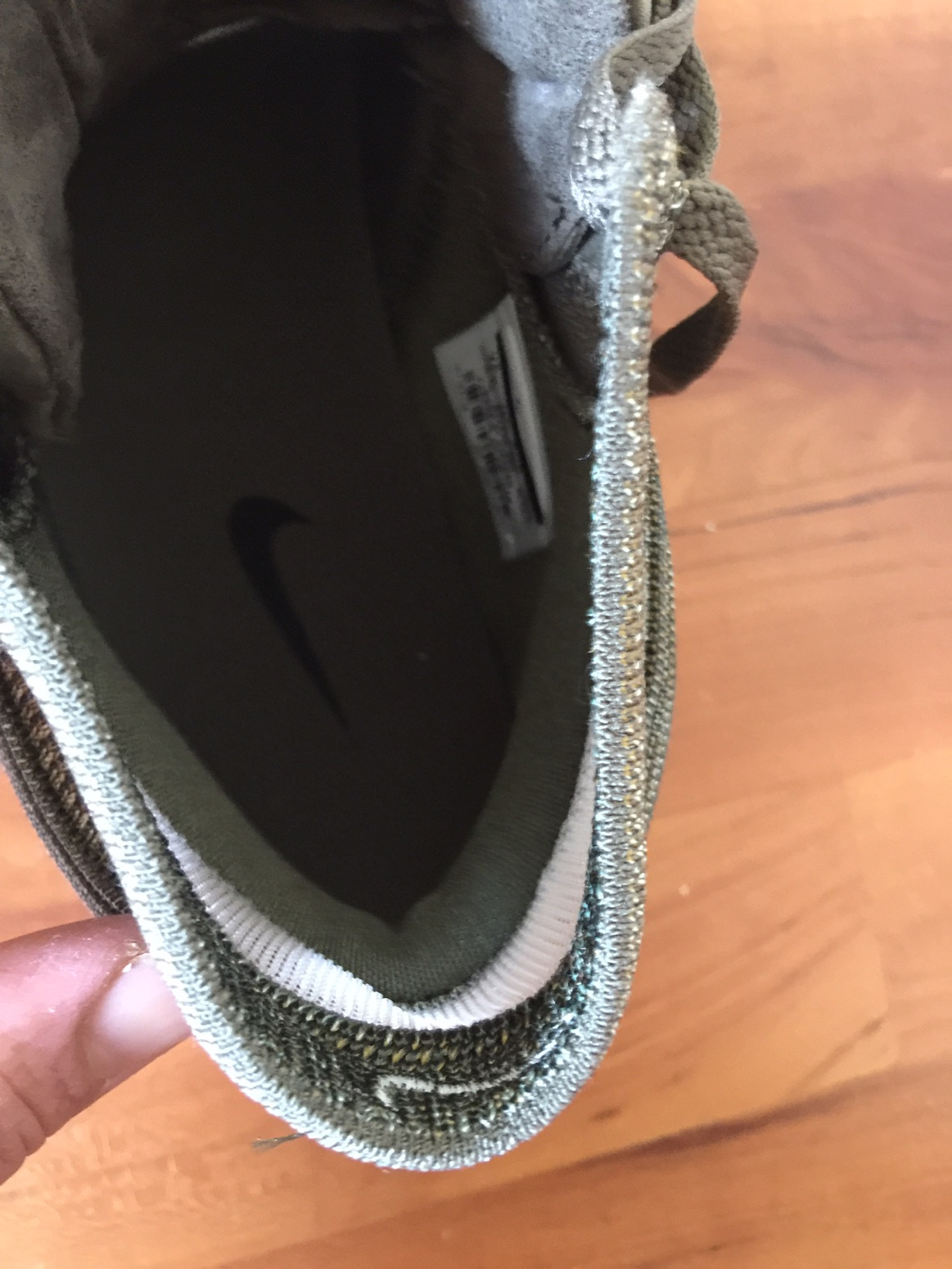 368a20d3fc27 It is extremely thin and flexible and almost independent of the entire  shoe. You can see the mesh cut out in the pics above that adds even more  flexibility.