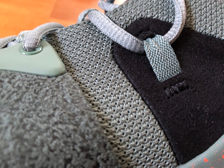 23743f07b91f Mesh and a touch of suede. Although the materials are unremarkable