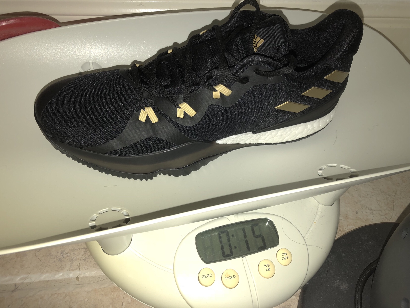 adidas crazylight boost 2018 test