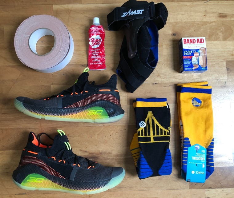 33f507166d337 Under Armour Curry 6 VI Performance Analysis and Review. Written by  schwollo. The Curry 6 kit. Accessories not included. Some reassembly may be  required